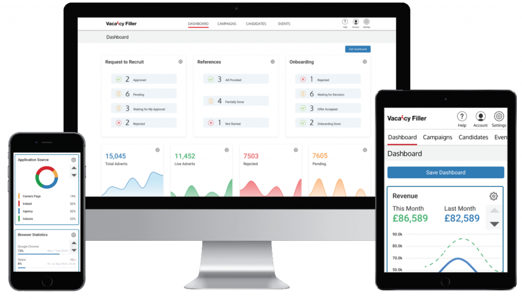Vacancy Filler Applicant Tracking Software
